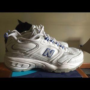 Gently used New Balance cross training sneakers